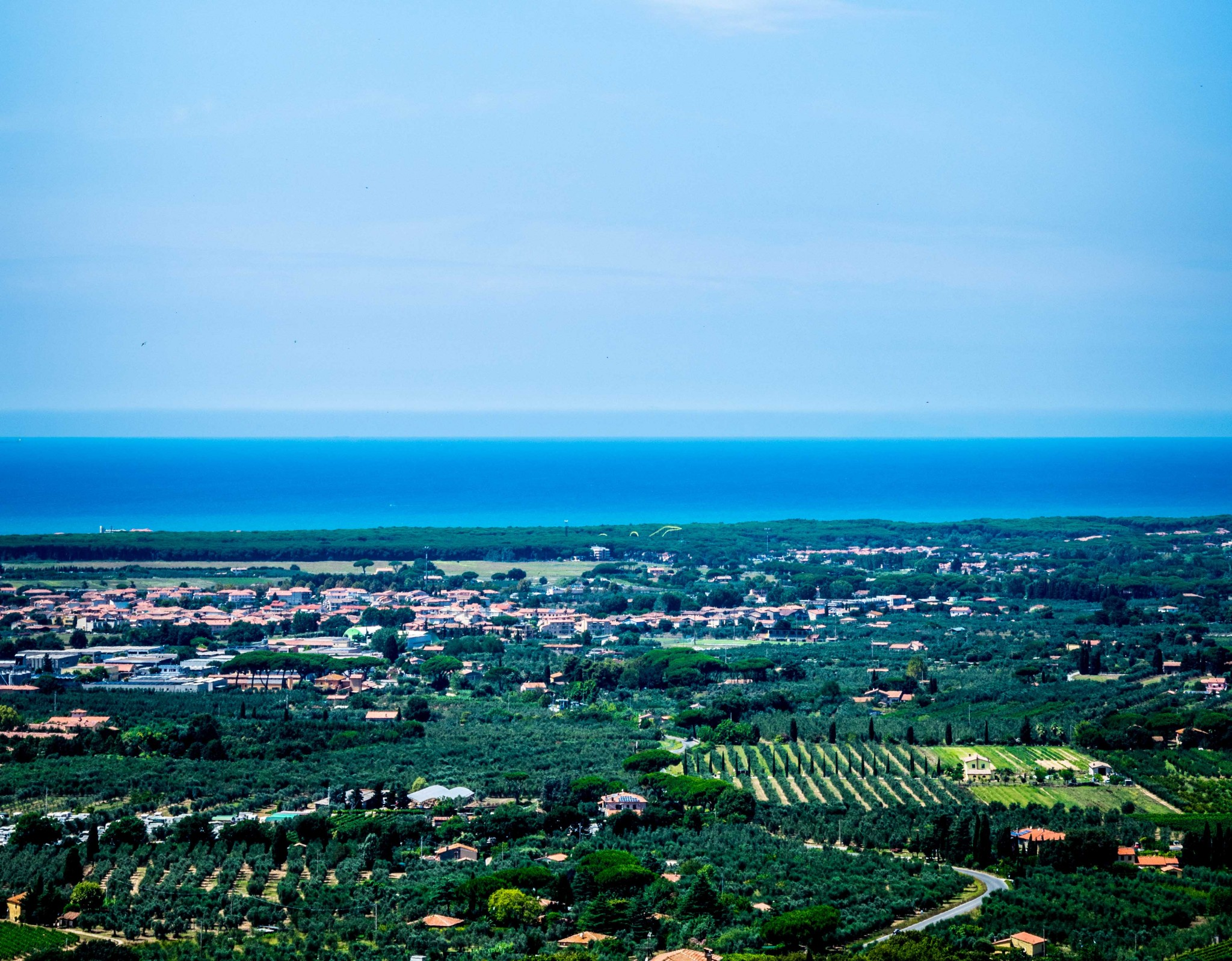 Castagneto carducci Panorama
