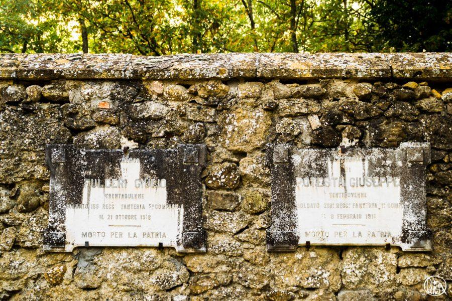 I soldati di Segarelli. Commemorazione dei caduti 4 Novembre.